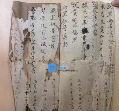 Dịch tiếng Hán Nôm - Chữ Nôm chữ Thảo