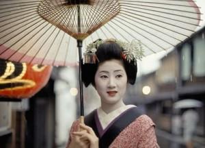 Người Nhật trong trang phục tuyền thống